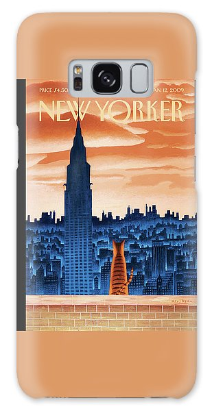 Chrysler Building Galaxy Case - New Yorker January 12th, 2009 by Mark Ulriksen