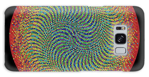 Visualization Galaxy Case - 10000 Approximations Of Pi by Martin Krzywinski