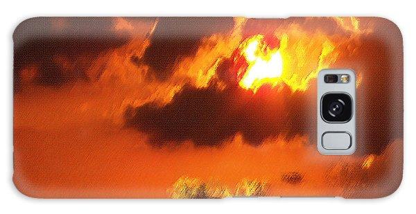 1002206 Louisiana Sun Set Galaxy Case