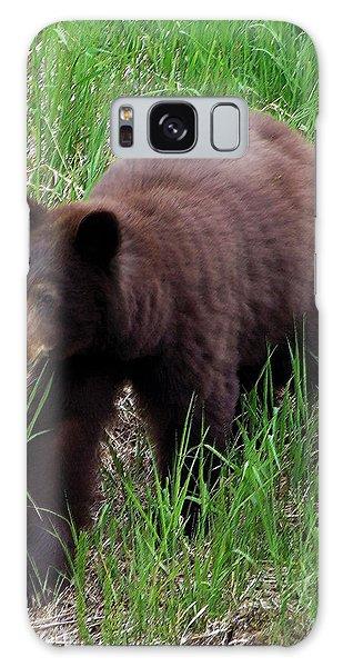100414 Black Bear Galaxy Case