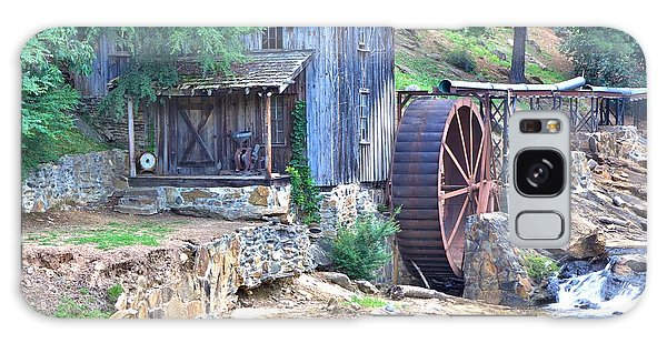 Sixes Mill On Dukes Creek - Square Galaxy Case