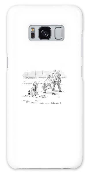 Baseball Galaxy Case - New Yorker October 10th, 2005 by Danny Shanahan