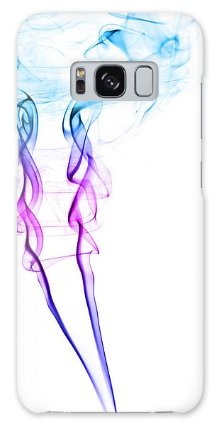 Colour Galaxy Case - Colourful Smoke by Samuel Whitton