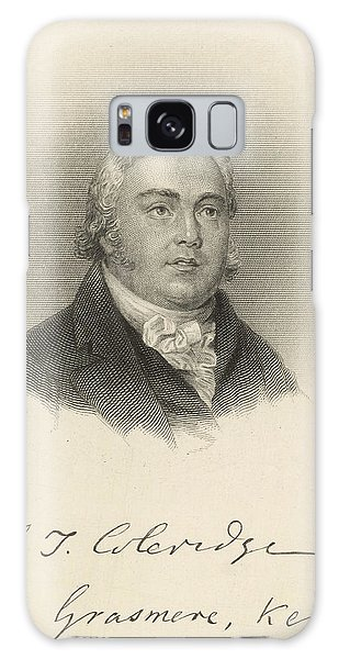 Grasmere Galaxy Case - Samuel Taylor Coleridge  English Poet by Mary Evans Picture Library
