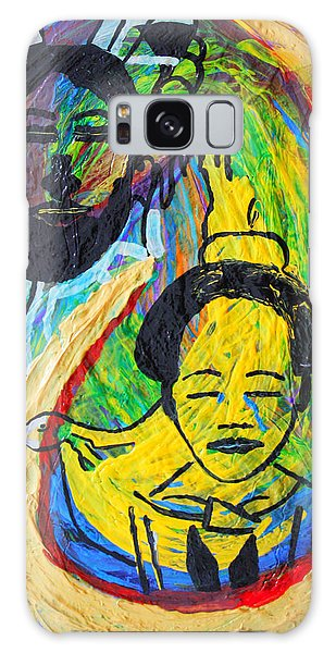 Mama Africa Galaxy Case - The Annunciation by Gloria Ssali