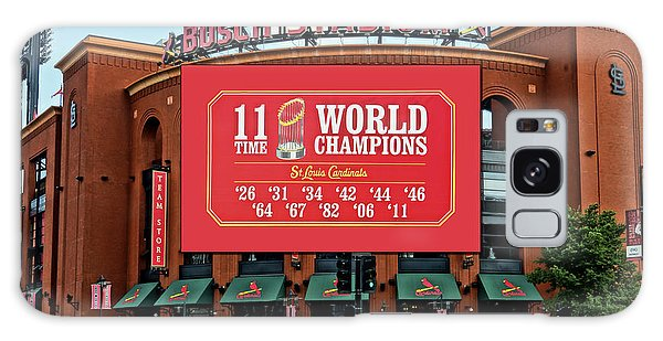 11 Time World Champion St Louis Cardnials Dsc01294 Galaxy Case by Greg Kluempers