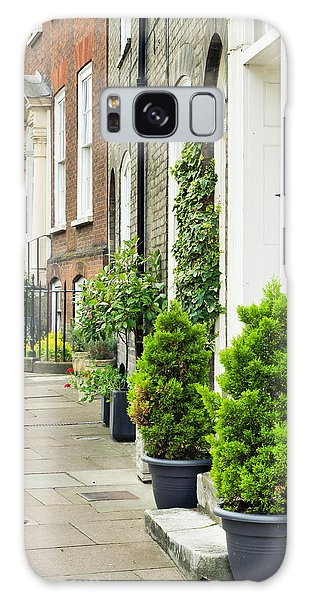 Bury St Edmunds Galaxy Case - Town Houses by Tom Gowanlock
