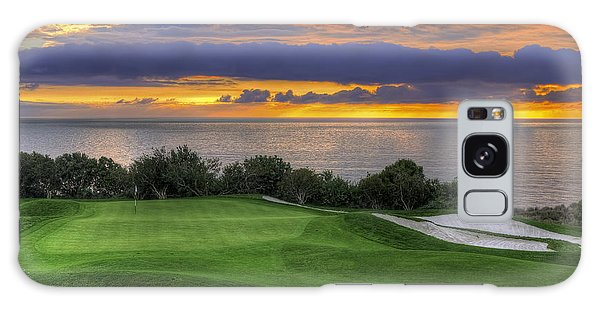11th Green - Trump National Golf Course Galaxy Case