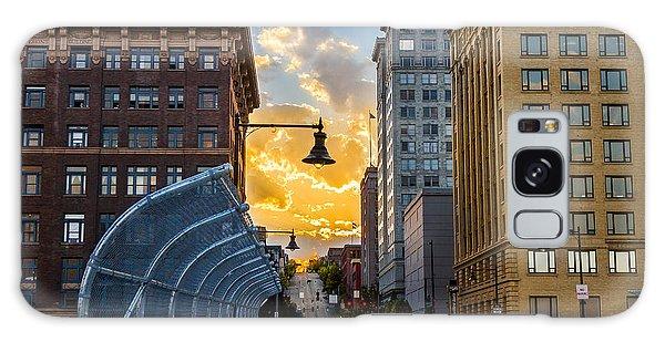 11th St Bridge Sunset 4 Galaxy Case