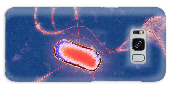 Escherichia Coli Galaxy Case - E. Coli Bacterium by Centre For Infections/public Health England/science Photo Library