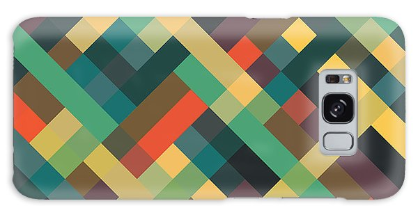 Vector Galaxy Case - Geometric by Mike Taylor
