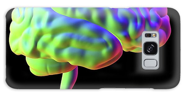 Brainstem Galaxy Case - Human Brain by Alfred Pasieka