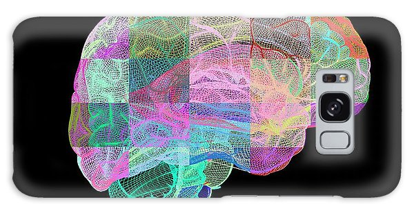 Brainstem Galaxy Case - Human Brain by Pasieka