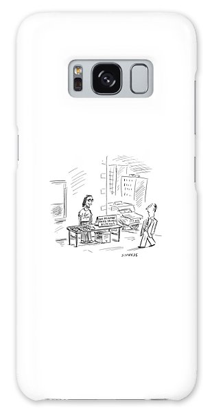 Mexican Galaxy Case - New Yorker July 3rd, 2000 by David Sipress