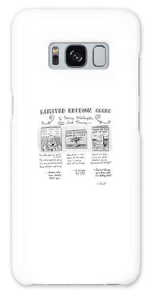 Dick Cheney Galaxy Case - Limited Edition Cards by Roz Chast