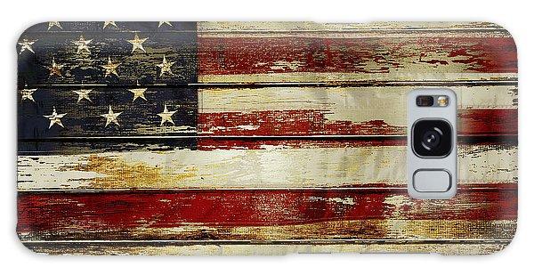 American Flag 54 Galaxy Case