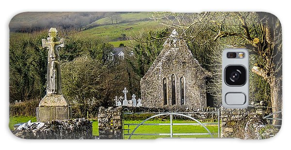 12th Century Cross And Church In Ireland Galaxy Case