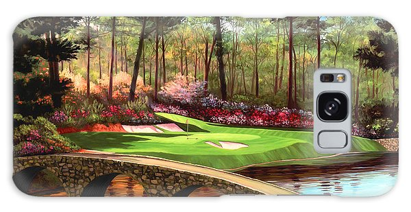 12th Hole At Augusta  Galaxy Case by Tim Gilliland