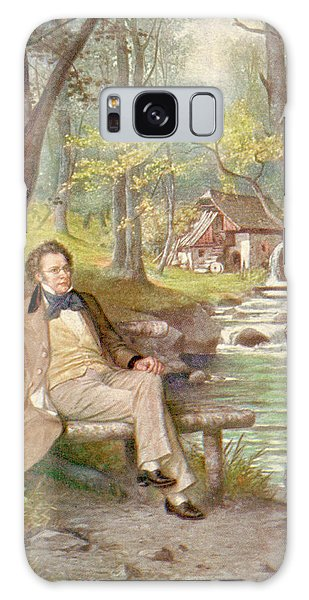 Schubert Galaxy Case - Franz Schubert (1797-1828), Austrian by Mary Evans Picture Library