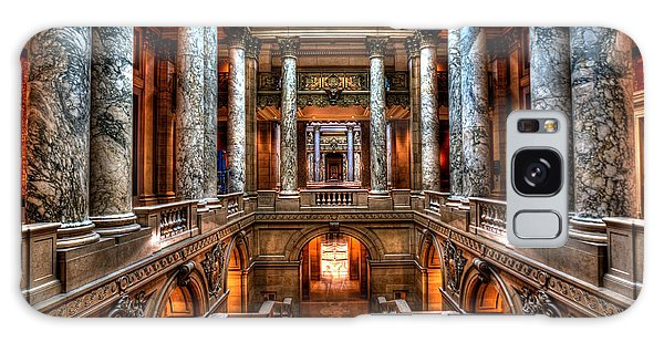 Minnesota State Capitol Galaxy Case by Amanda Stadther