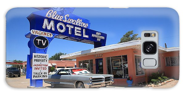 Route 66 - Blue Swallow Motel Galaxy Case