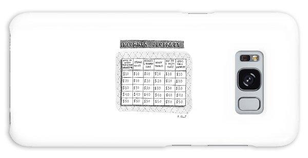 Insomnia Jeopardy Galaxy Case by Roz Chast
