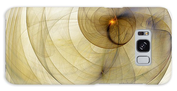 Colorful Abstract Forms Galaxy Case by Odon Czintos