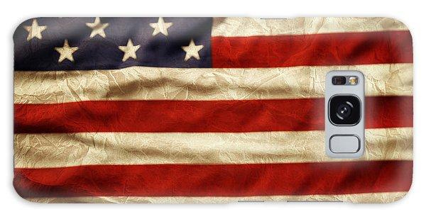 Landmark Galaxy Case - American Flag 59 by Les Cunliffe