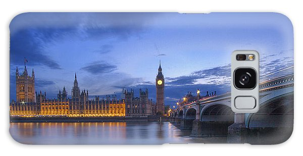 Big Ben And The Houses Of Parliament  Galaxy Case by David French