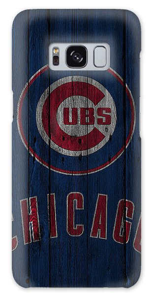 City Scenes Galaxy S8 Case - Chicago Cubs by Joe Hamilton