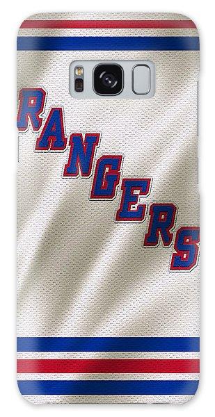 Hockey Galaxy Case - New York Rangers by Joe Hamilton