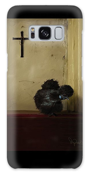 Galaxy Case - 16. Black Silkie by Sigrid Van Dort