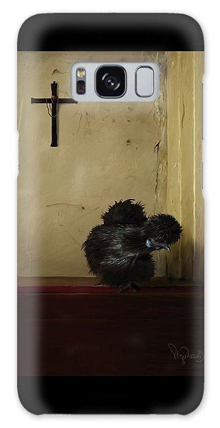 16. Black Silkie Galaxy Case