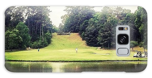 Sports Galaxy Case - #17 The Bluffs #golf #iphone5 by Scott Pellegrin