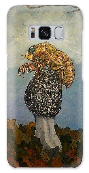 17 Year Cicada With Morel Galaxy Case