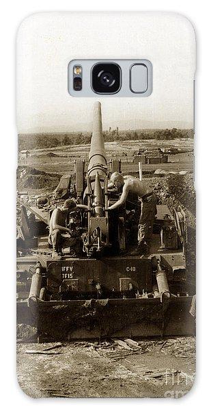175mm Self Propelled Gun C 10 7-15th Field Artillery Vietnam 1968 Galaxy Case