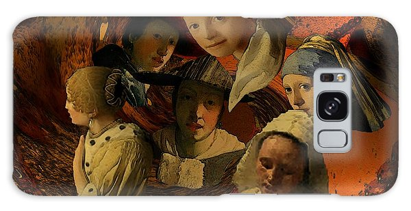 17th Century Maidens Galaxy Case