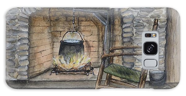 1800s Cozy Cooking .... Fire Place Galaxy Case