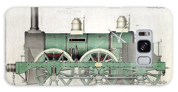 Trains Galaxy Case - 1843 Locomotive Luggage Engine by Jon Neidert