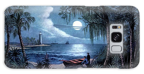 Old Florida Galaxy Case - 1850s The Florida Coast - Currier & by Vintage Images