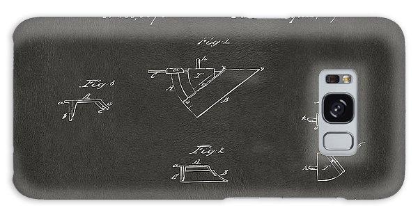 John Deere Galaxy Case - 1867 John Deere Plow Irons Patent Gray H by Nikki Marie Smith