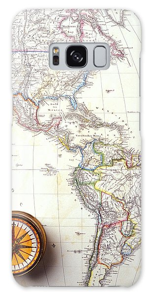 Usa Map Galaxy Case - 1868 Map Of America by Garry Gay