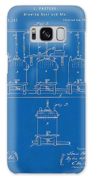 1873 Brewing Beer And Ale Patent Artwork - Blueprint Galaxy Case
