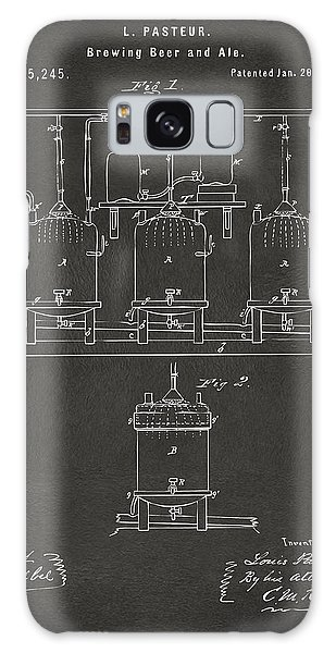 1873 Brewing Beer And Ale Patent Artwork - Gray Galaxy Case