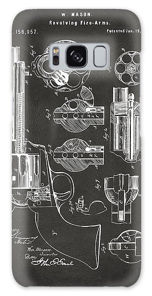 1875 Colt Peacemaker Revolver Patent Artwork - Gray Galaxy Case by Nikki Marie Smith