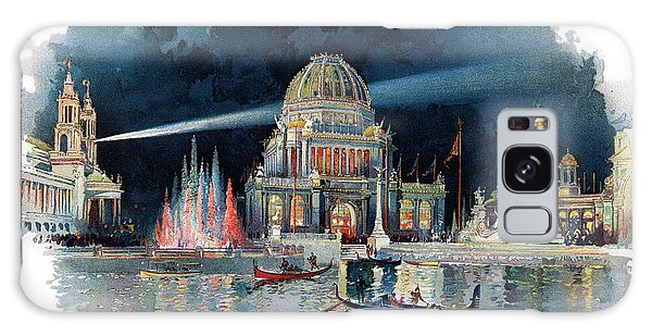 Vintage Chicago Galaxy Case - 1890s Night In Grand Court Of World by Vintage Images