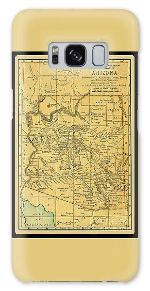 1891 Arizona Map Galaxy Case