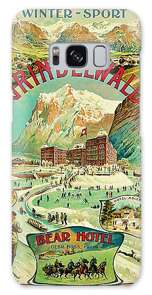 1893 Grindelwald Vintage Travel Art Galaxy Case by Presented By American Classic Art