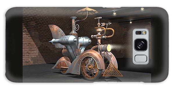 1898 Steam Scooter Galaxy Case