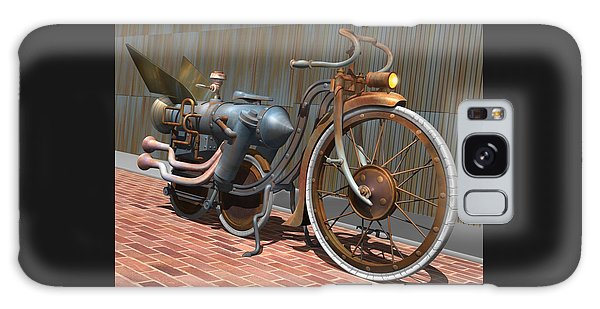 1899 Inline Steam Trike Galaxy Case